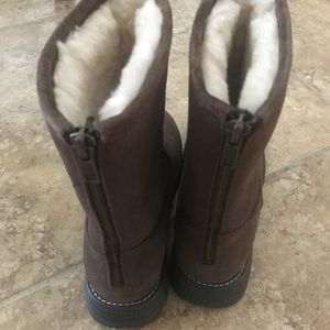 UGG Shoes - UGG Langley Lined Waterproof Leather Snow Boot